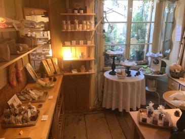 Artisanal soap shop in Gruyère