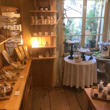 Artisanal soap shop in Gruyère